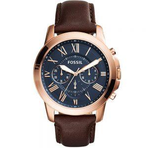 ساعت مچی عقربه ای مردانه فسیل مدل FS5068